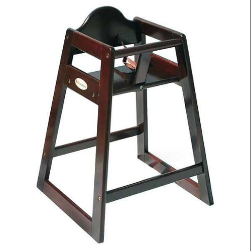 FOUNDATIONS 4501859 High Chair, Cherry, Hardwood