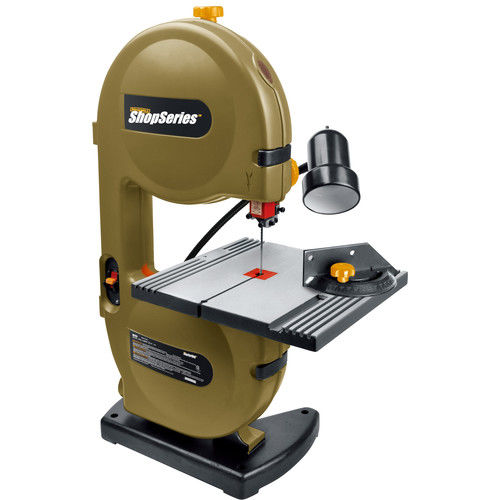 Rockwell RK7453 ShopSeries 2.5 Amp 9 in. Band Saw with 59-1 2 in. Blade and Work Light by Positec Technology