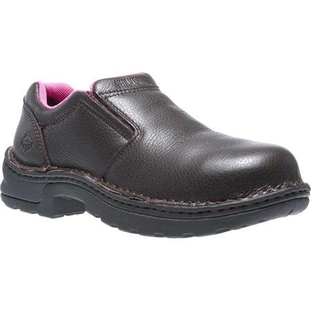 Women's Bailey Opanka Slip-On Steel Toe EH (Steel Toe Opanka Oxford)