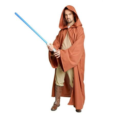 Desert Brown Jedi Robe Men's Medium - Jedi Bathrobe