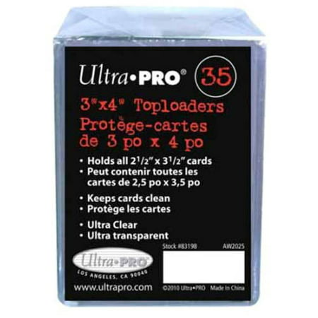 Ultra Pro Toploaders  Pack Of 35