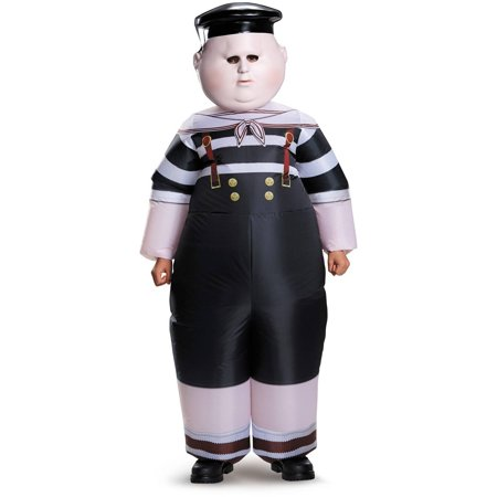 Halloween Costumes For Glasses Wearers (Alice Through the Looking Glass: Inflatable Tweedle Dee/Dum Child Halloween Costume, One)