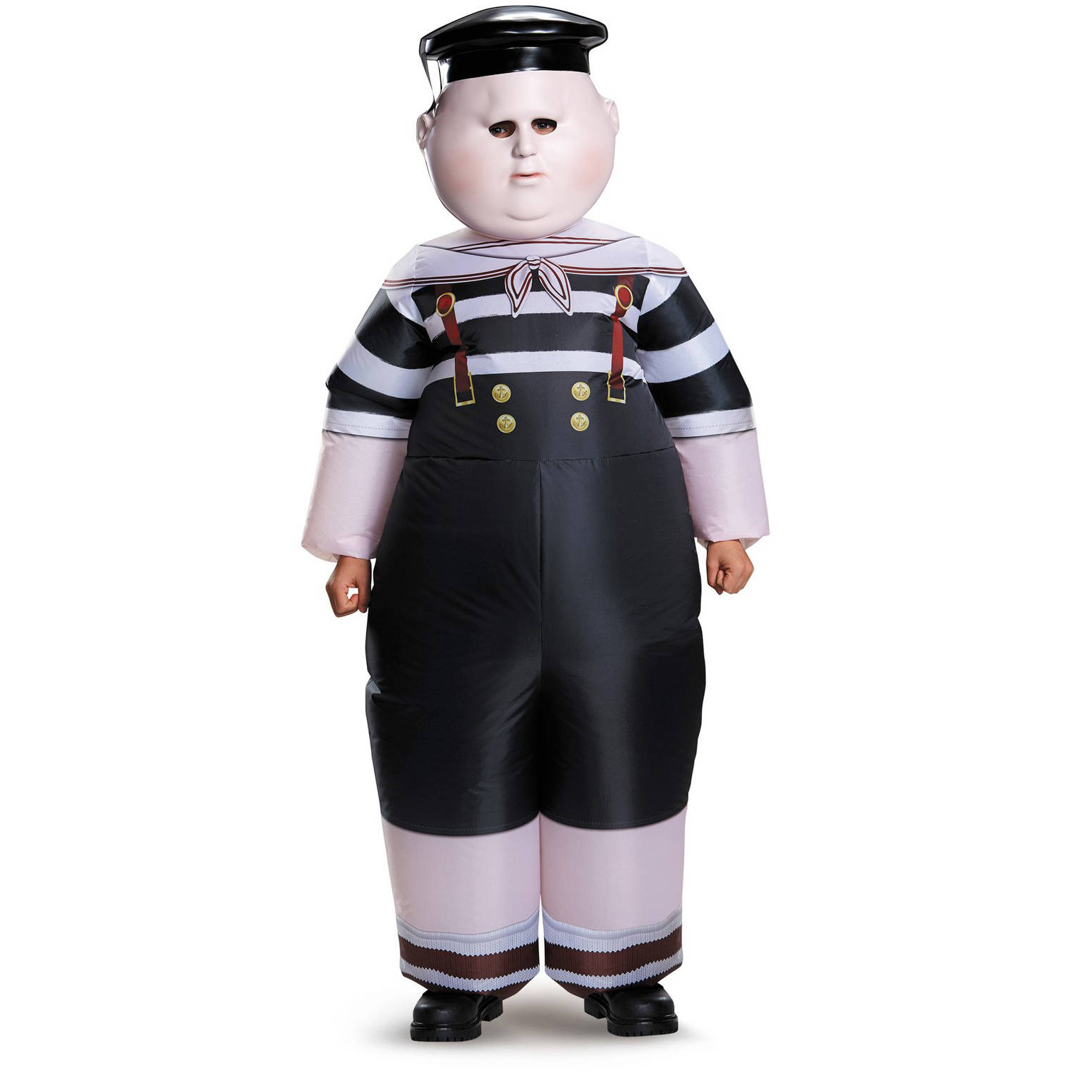 Alice Through the Looking Glass: Inflatable Tweedle Dee/Dum Child Halloween Costume, One Size