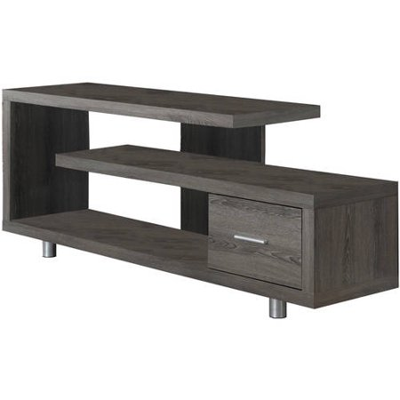 Monarch Tv Stand Dark Taupe With 1 Drawer For TVs Up To 47u0022L