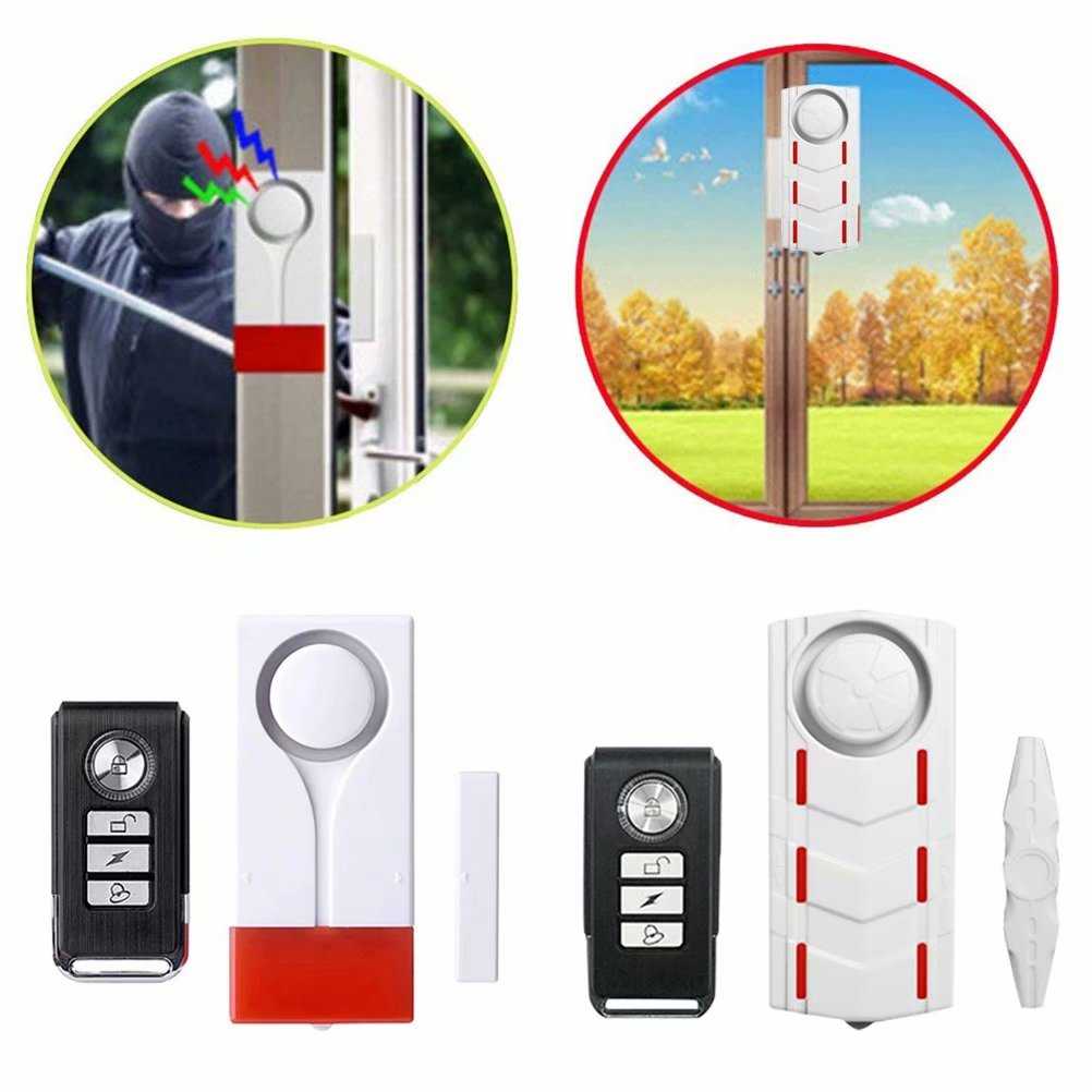 Remote Alarm Vibration Anti-Theft  Security US Motorcycle 108dB Bike NEW Bicycle