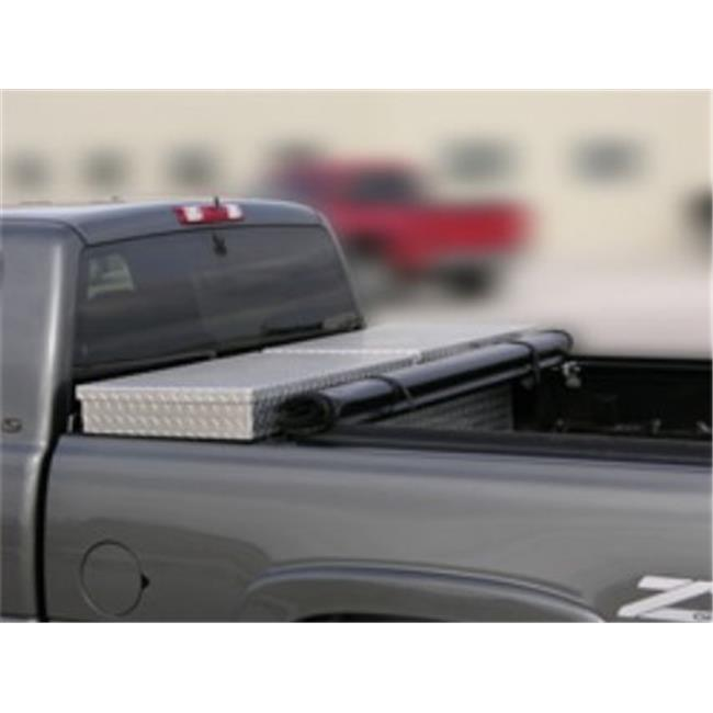 Access 65239 Tool Box Edition Tonneau Cover Toyota Tundra 5. 5 ft.  Bed with Deck Rail