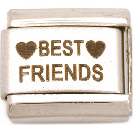 Best Friends Italian Charm Laser   9mm (Best Laser For Fine Lines)