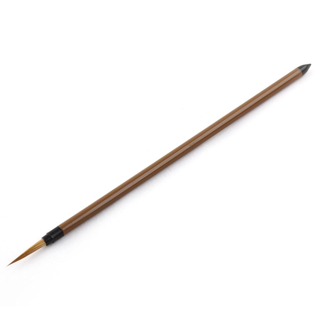 Artist Acrylic Painting Nylon Hair Wooden Handle #2 Detail Paint Brush Brown - image 5 de 5