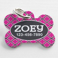 Personalized Pet Tag, Multiple Colors