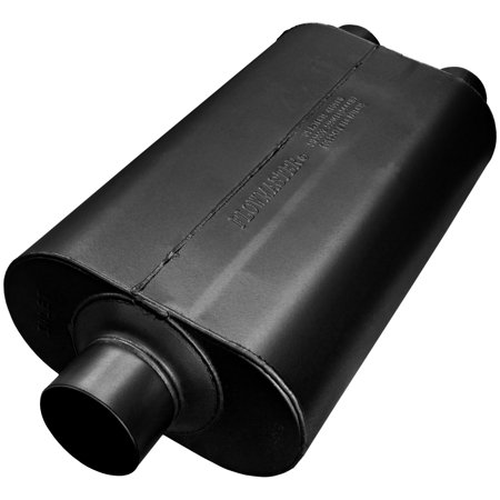 Flowmaster 8530552 Super 50 Muffler 409S 3.00 Center In / 2.50 Dual Out