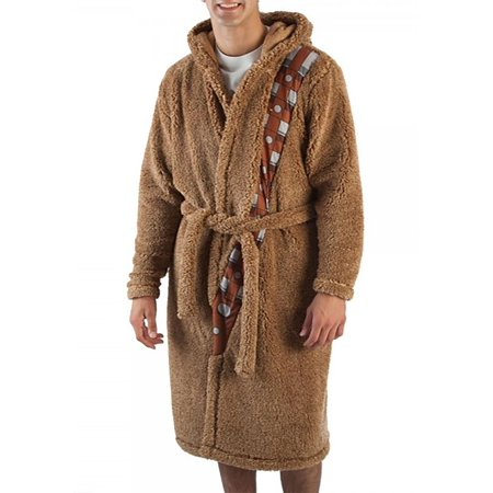Chewbacca Adult Star Wars Sherpa Robe w/ Sound Chip - Adult Robes