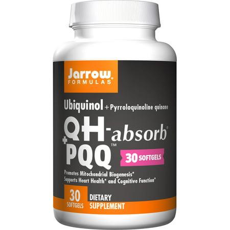 Heart Support Formula (Jarrow Formulas Ubiquinol Plus Pyrroloquinoline Quinone, Supports Heart Health and Cognitive Function, 30)