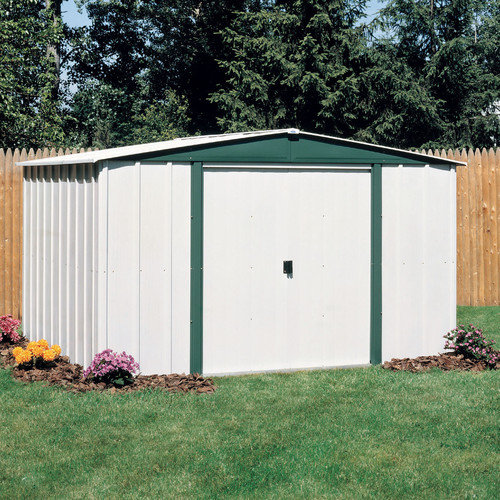 Arrow Hamlet 10 Ft. W x 8 Ft. D Steel Storage Shed