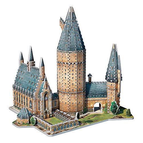 WREBBIT 3D Hogwarts Great Hall 3D Puzzle (850 Piece) by WREBBIT PUZZLES