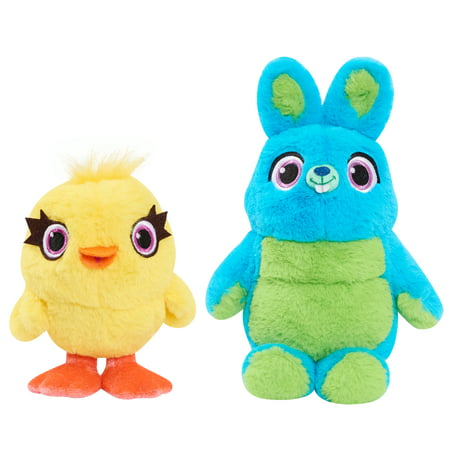 Toy Story 4 Bean Plush 2-Pack - Ducky & Bunny
