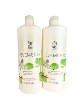 WELLA Elements SHA & COND Duo 1L ea / 33.8 oz ea