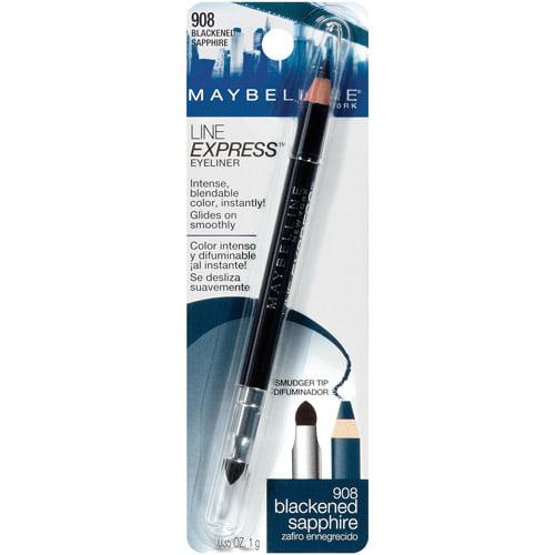 Maybelline New York Line Express Eyeliner, 908 Blackened Sapphire, 0.035 oz