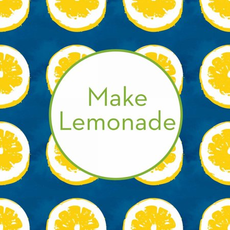 Make Lemonade on Blue Poster Print by Linda Woods](Lemonade Stand Poster)