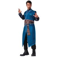 Blue and Brown Doctor Strange Marvel Men Adult Halloween Costume - One Size