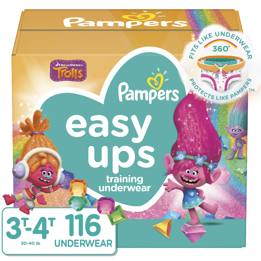 $2 OFF ONE Select Pampers Easy Ups Training Underwear
