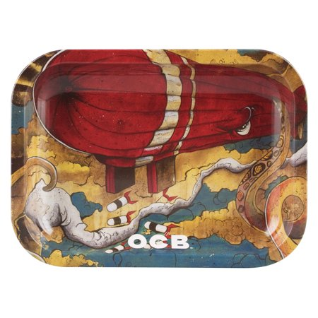 Ocb Rolling Papers - OCB Metal Rolling Tray - Sean Max / Small (7.5