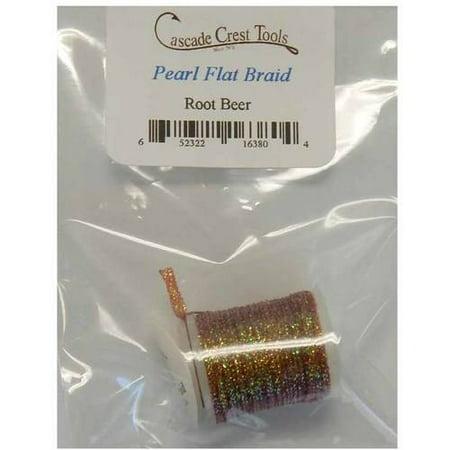 Cascade Crest Pearlescent Flat Braid, Pearl (Cascade Beer)