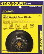 Eazypower 50633 Eazypower Oscillating Crv Radial Saw Blade, 3-1 8 In. (Pack Of 2) by Eazypower