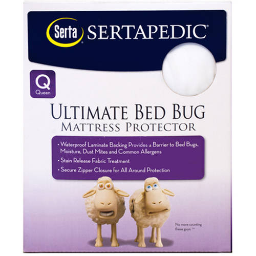 Sertapedic Ultimate Protection Bed Bug Mattress Encasement Walmart Com