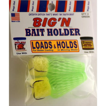 MAGIC BAIT - BIGN MESH DIPPER, catfish dip bait holder