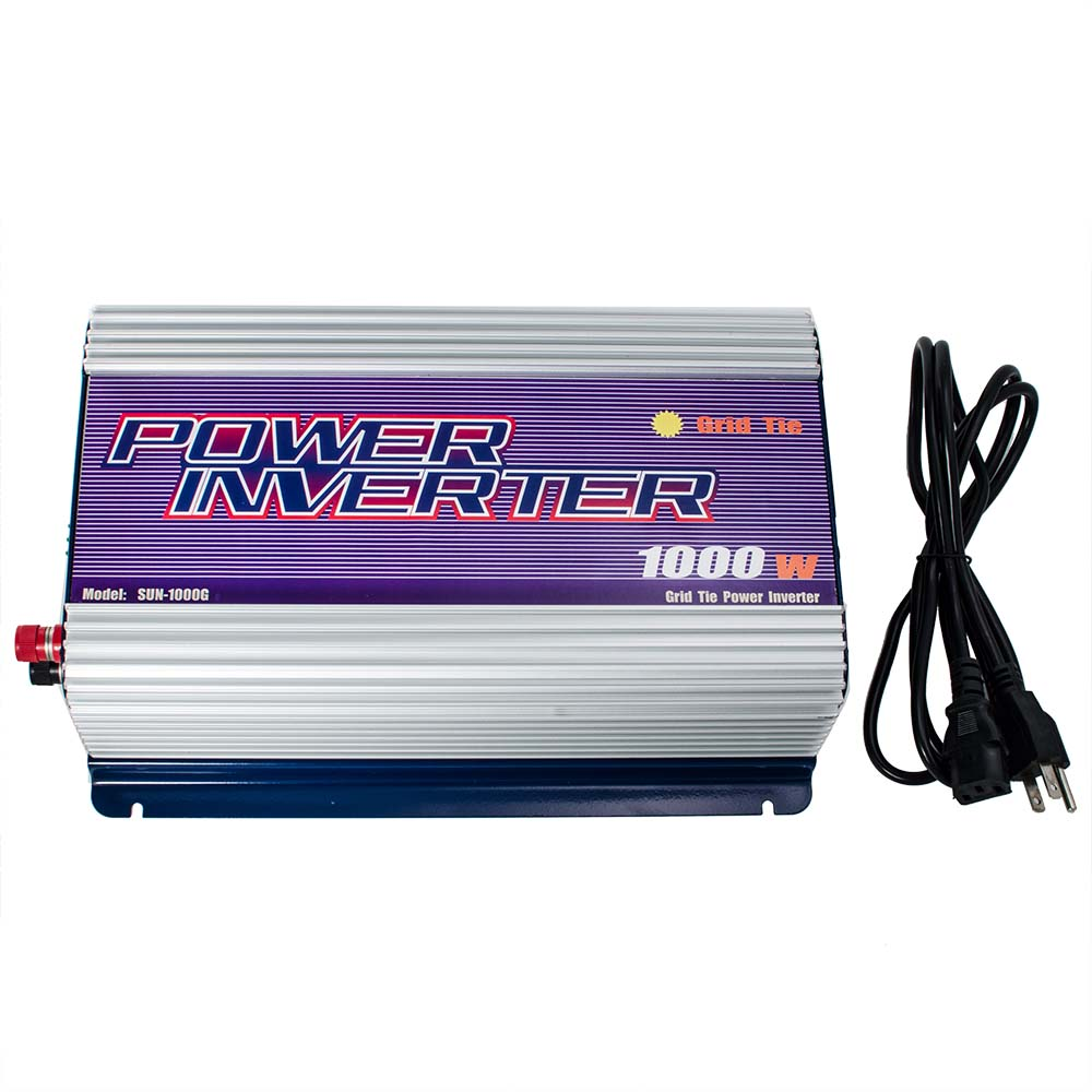 iMeshbean 1000W LCD MPPT Grid Tie Power Inverter 45v -90v DC Stackable for Solar Panel System Pure Sine Wave USA by