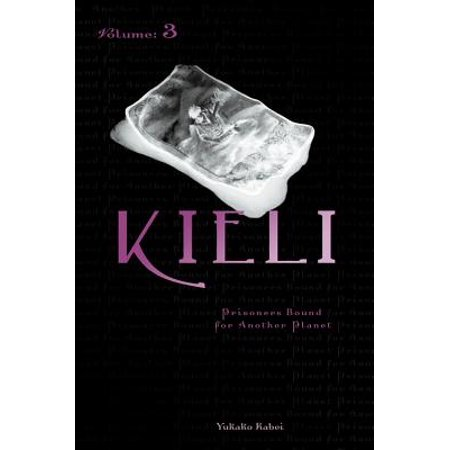 Kieli, Vol. 3 (light novel) : Prisoners Bound for Another Planet Kieli and Harvey have settled down in a mining town in South-Hairo, where Kieli works at a diner while Harvey stays at home, but his mysterious disappearances to take care of business lead her to an unwelcome discovery.