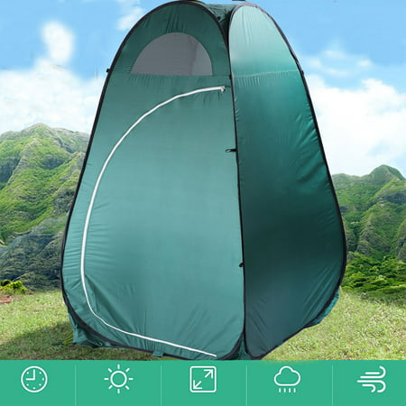 UBesGoo Pop Up Camping Tent Toilet Shower Beach Tent Outdoor Changing Room - Film Changing Tent