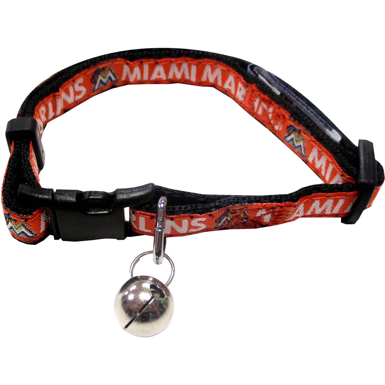 Pets First MLB Miami Marlins Cat Collar