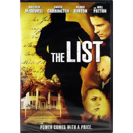 The List NEW Christian DVD Power Comes With A Price Starring Malcolm McDowell Malcolm Mcdowell Actor