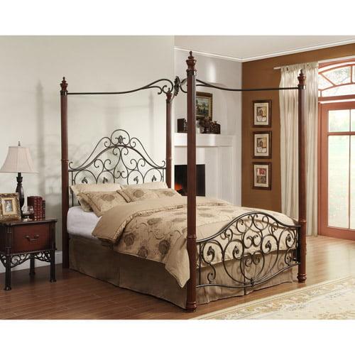 Adison II Queen Poster Canopy Bed