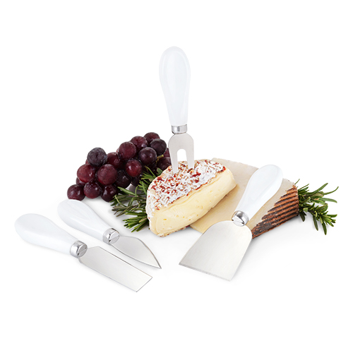 Country Cottage Ceramic Cheese Set by Twine
