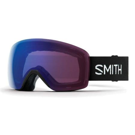 Smith Optics 2019 Skyline Snow Goggles Black Chromapop Photochromic Rose (Best Goggles For Snowboarding 2019)