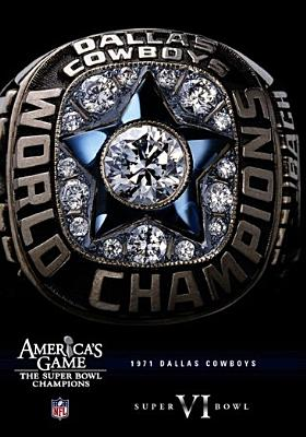 NFL America's Game: Dallas Cowboys Super Bowl VI (DVD) by Vivendi