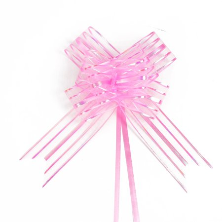 - Wedding Party Gift Wrapping Ribbon Pull Bows Decoration Pink 10pcs