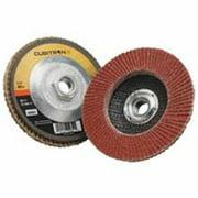 3M CUBITRON II 967A Flap Disc,T27,4-1/2in. x 5/8-11,40