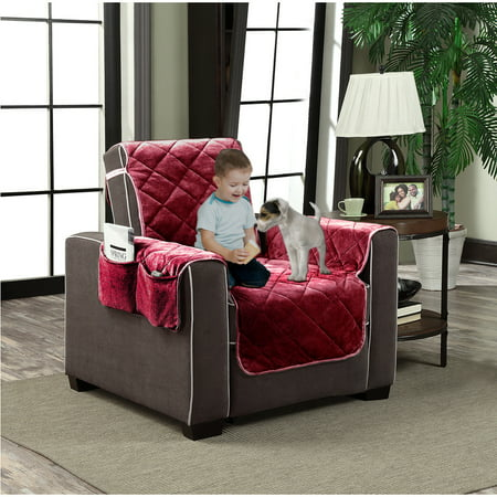 Plush Velour Slipcover Pet Dog Cat Furniture Couch Cover