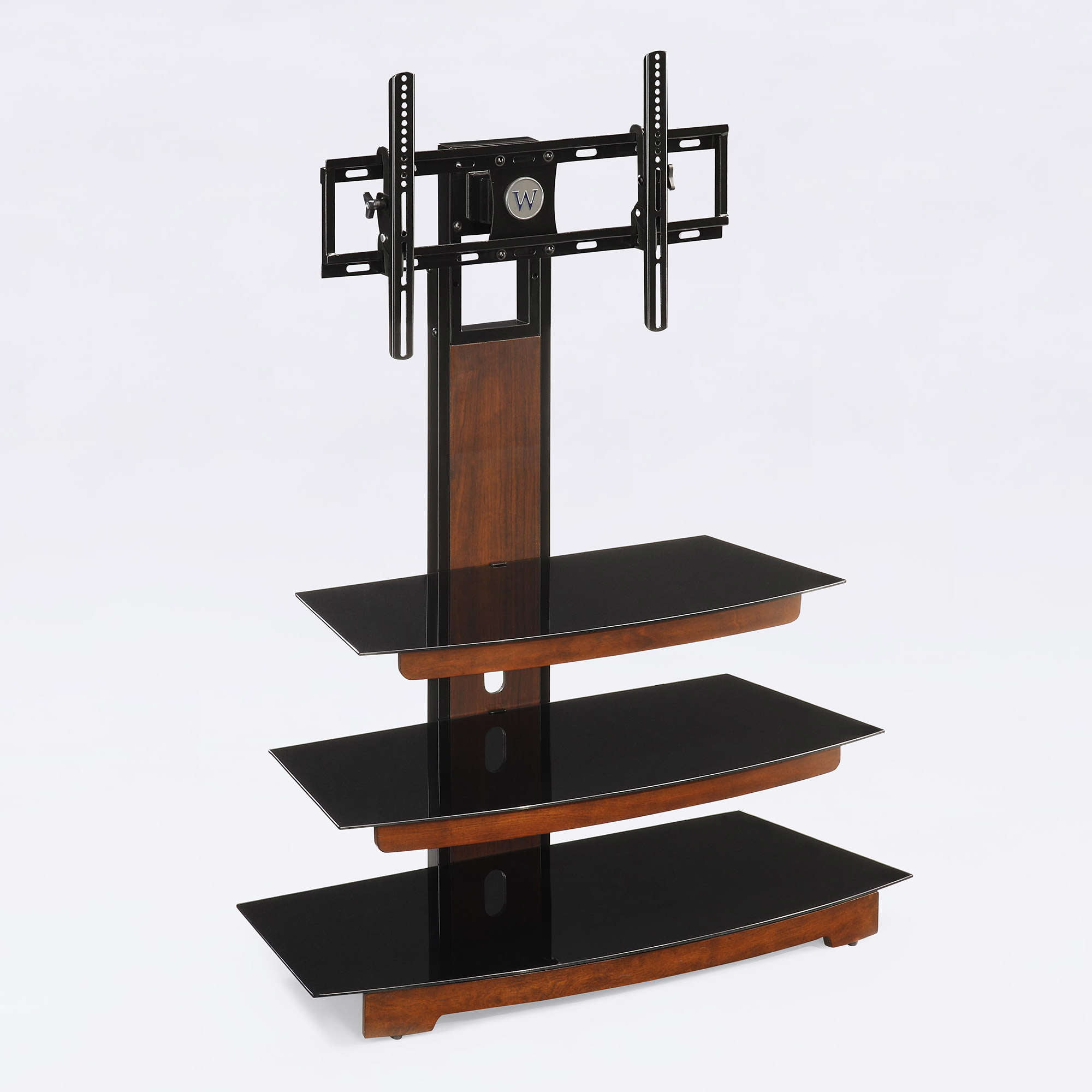 Whalen 3 Tier Television Stand For Tvs Up To 50 Perfect For Flat