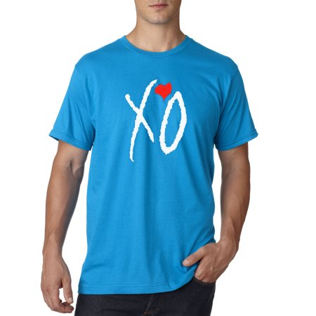 189 - Unisex T-Shirt Xo The Weeknd Heart [White Letters] ()