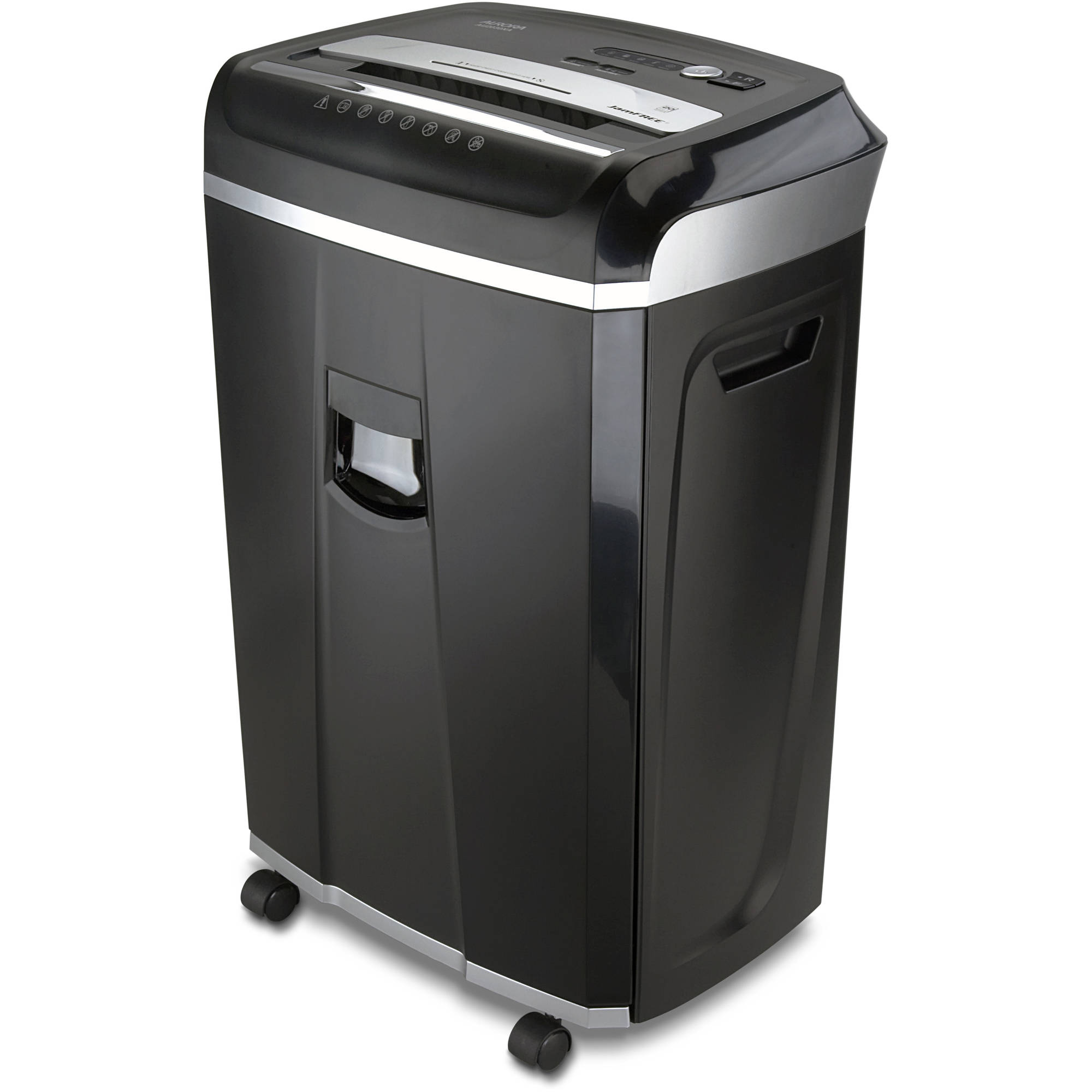 Aurora JamFree AU2030XA 20-Sheet Cross-Cut Paper/CD/Credit Card Shredder with Pull-Out Wastebasket