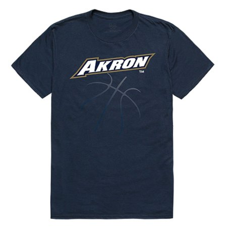 University of Akron UA Zips NCAA College Basketball Cotton Graphic Tee T-Shirt-S Akron Zips Ncaa Baseball