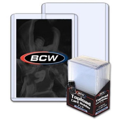 50ct 3.5mm 138pt Real Thick Card Top Loaders, 50ct BCW 3.5mm 138pt Real Thick Card Top Loaders By BCW ()