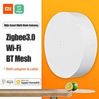 Xiaomi Mijia Smart Multi-Mode Gateway ZNDMWG03LM 2.4GHz Wifi Zigbee3.0 Bluetooth 5.0  Mesh Hub Voice APP Control Smart Linkage Work With Apple Homekit