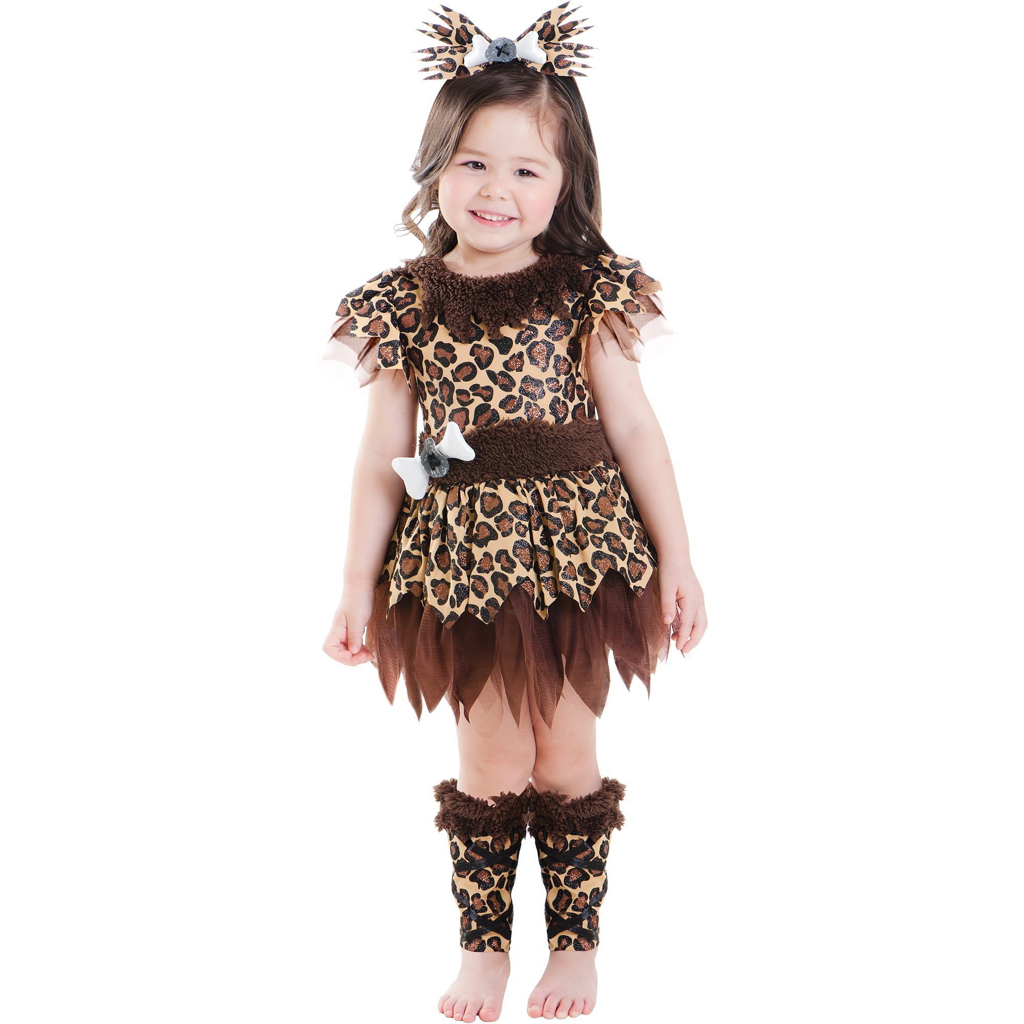 cave girl toddler halloween costume - walmart
