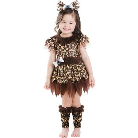 281c381b5584 Cave Girl Toddler Halloween Costume - Walmart.com