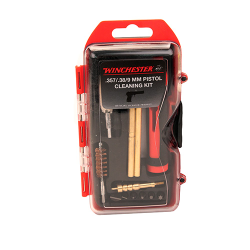 Winchester 14-Piece .38/9Mm Pistol Cleaning Kit with 6-Piece Driver Set